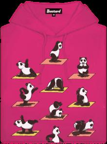 Pandí jóga dámská mikina