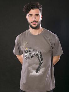 Snake Train pánské tričko