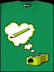 895279f0a30 Ořezávátko zelené dámské tričko - Trička s potiskem