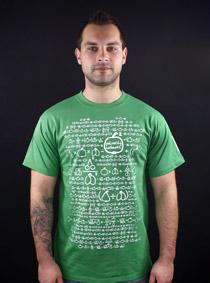 ace48827545 Matematik zelené pánské tričko - Trička s potiskem