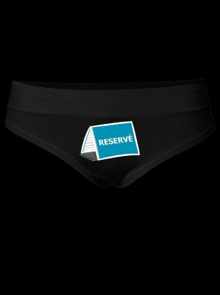 Reservé - černé kalhotky