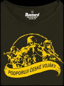 Podporuji vojáky dámské tričko