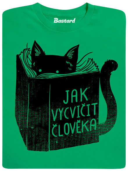 Povinná četba zelené pánské tričko