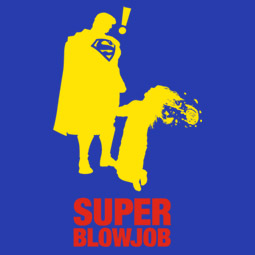 Super Blowjob pánské tričko