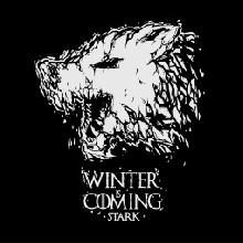 Winter is Coming pánské tričko