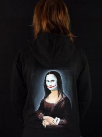 Mona Joker Lisa dámská mikina