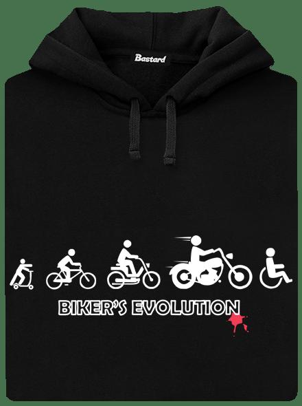 Bikers evolution pánská mikina