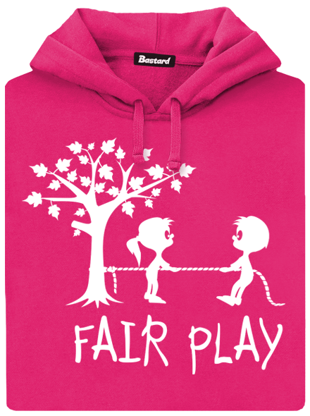 Fair play fialová dámská mikina