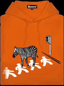 Zebra dámská mikina