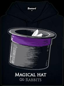Magický klobouk pánská mikina