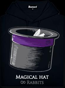 Magický klobouk dámská mikina