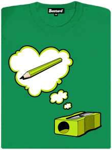 Ořezávátko zelené dámské tričko