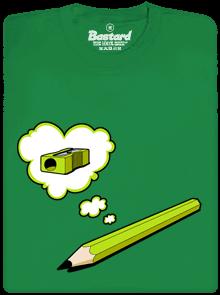 Tužka zelené pánské tričko