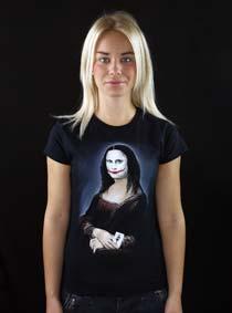 Mona Joker Lisa dámské tričko