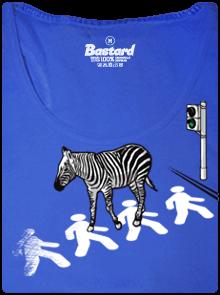 Zebra dámské tílko