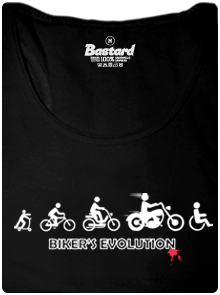Bikers evolution dámské tílko