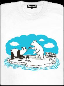 Lední medvědi dámské tričko