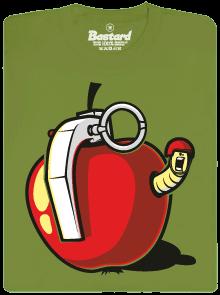 Granátové jablko zelené pánské tričko