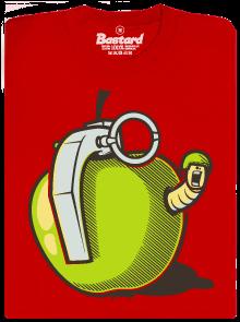 Granátové jablko červené pánské tričko