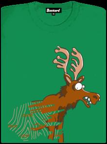 Stírací los zelené dámské tričko