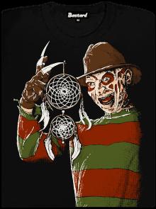 Freddyho pomsta dámské tričko