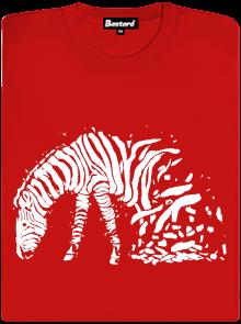 Zebrovaná láska dámské tričko
