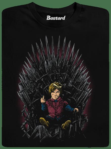 Tyrion na trůnu pánské tričko