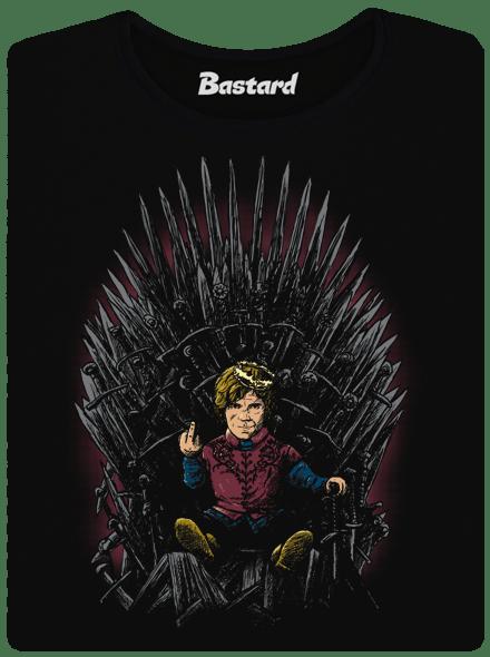 Tyrion na trůnu dámské tričko