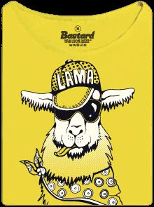 Lama dámské tričko