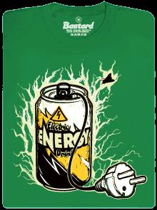 Energy drink zelené pánské tričko