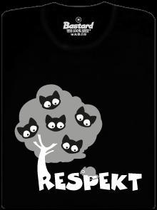 Respekt dětské tričko