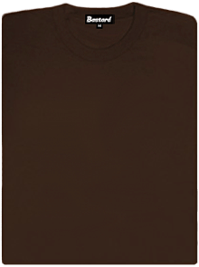 Dámské tričko raglánové hnědé