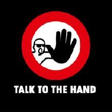 Talk to the Hand pánské tričko