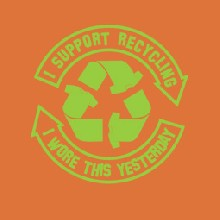 Recycled T-shirt dámské tričko