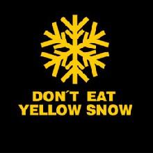 Yellow Snow pánské tričko