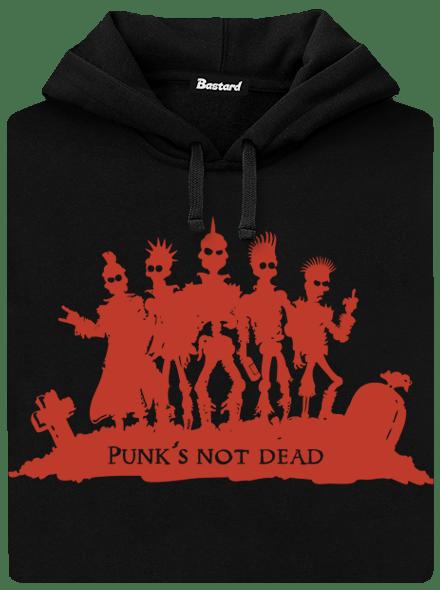 Punk's Not Dead pánská mikina