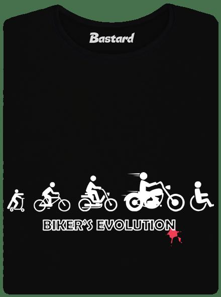 Bikers evolution dámské tričko