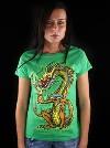 Hungry Dragon zelené dámské