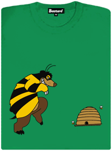 Pan včelka dámské tričko