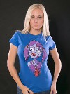 Láska až za hrob modré dámské tričko