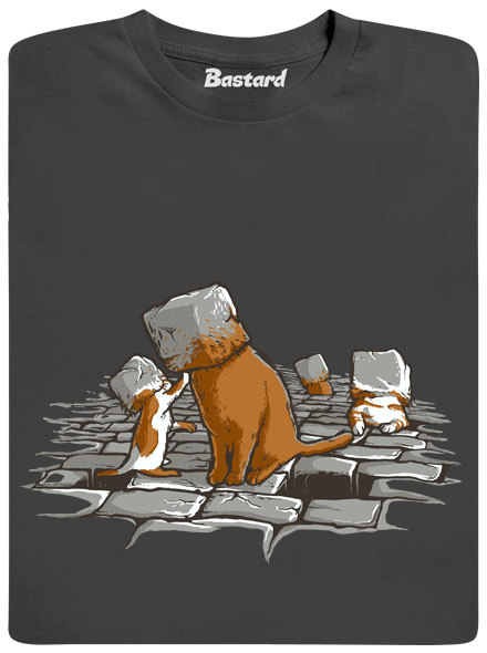Kočičí hlavy pánské tričko