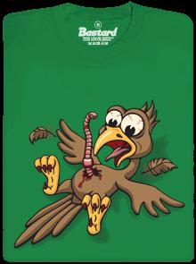 Žížalovetřelec zelené pánské tričko