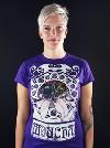 Moucha fialové dámské tričko