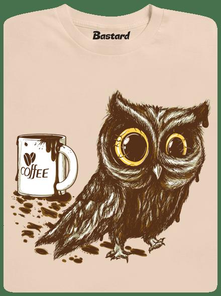 Sova na kofeinu pánské tričko