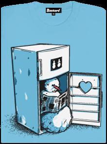 Lednice modré dámské tričko