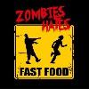 Zombies Hate Fast Food dámské tričko